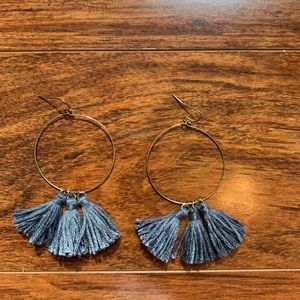 Jewelry - Circle Tassel Earrings